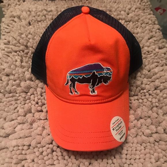 bf1261f1 Patagonia Accessories | Women Fitz Roy Bison Layback Trucker Hat ...